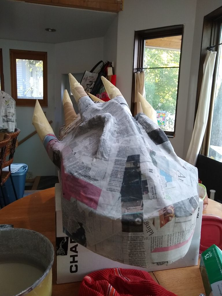 Picture of Lots of Paper Mache