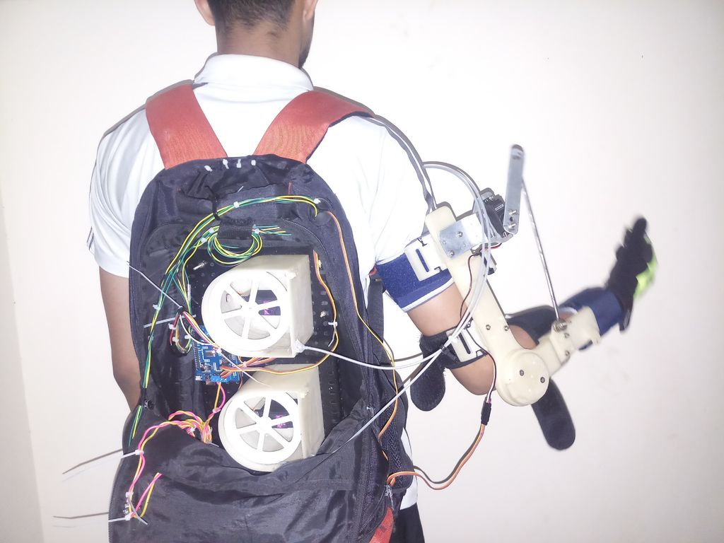 Picture of Exoskeleton for Paralytic Arm