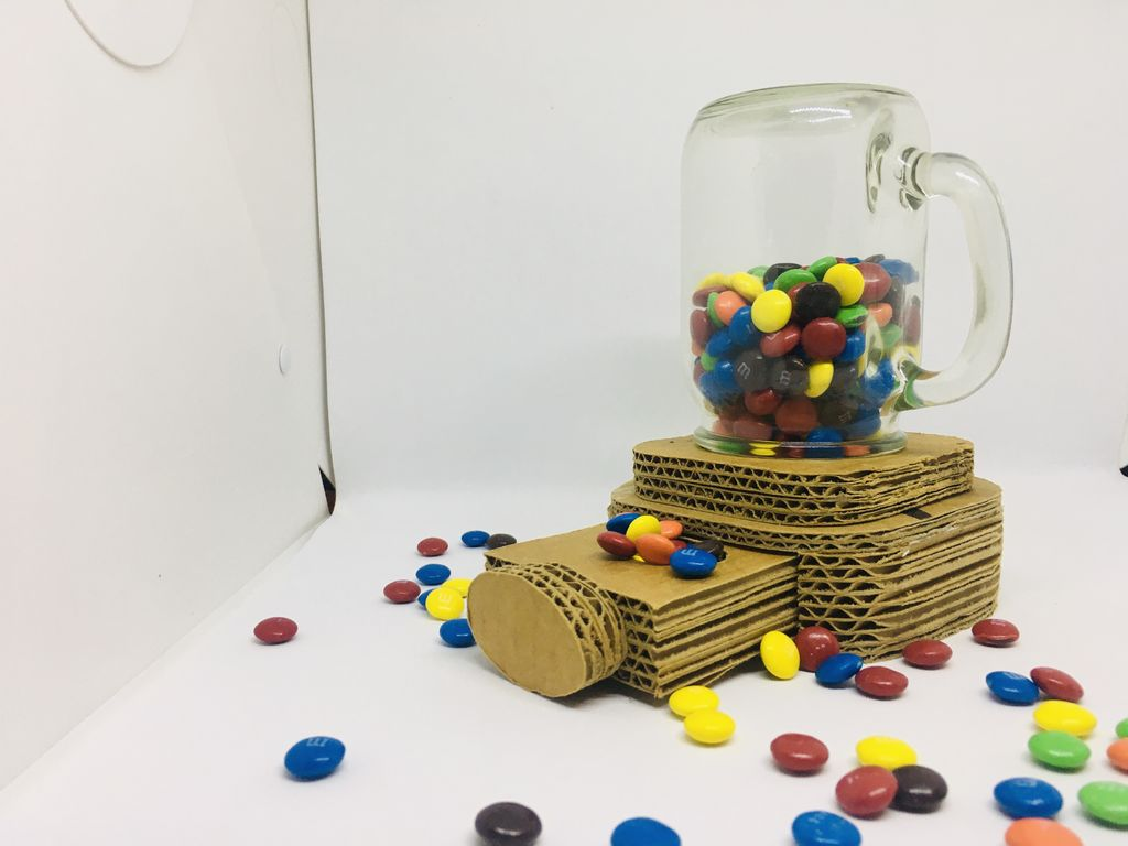 Picture of DIY Cardboard Candy Dispenser