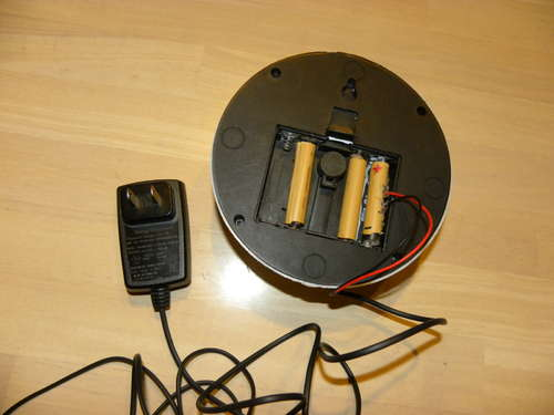 Picture of Using an DC Adapter for Battery Powered Device