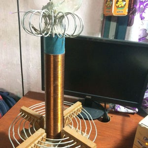 """How to Build a Tesla Coil (Beefed Up ) FROM """"SCRAP""""!!!!!!!"""