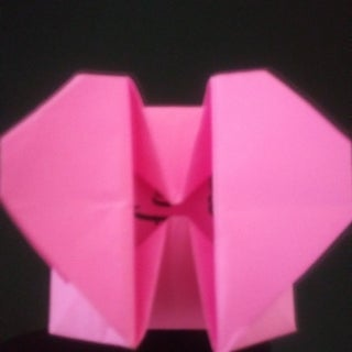 DIY Origami Heart Box- Secret Message (easy