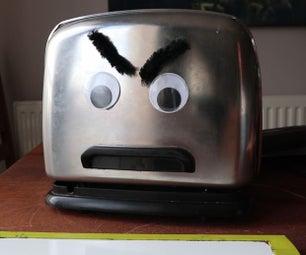 泰德会说话的烤面包机