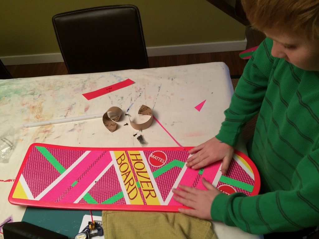 Picture of Adding the Griptape