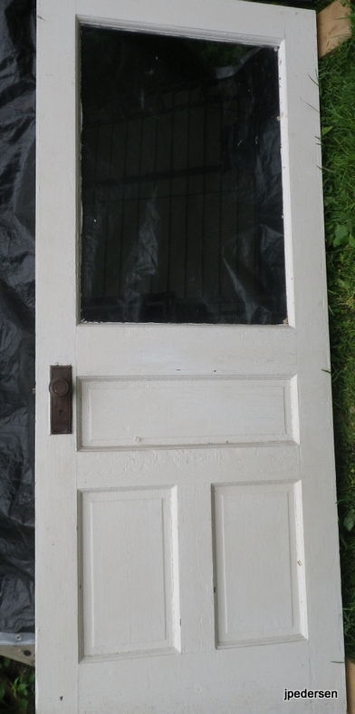 Picture of Reusing a Door to Replace a Door.