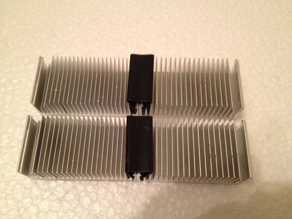 Picture of Connecting Heat Sink by Bander Clips