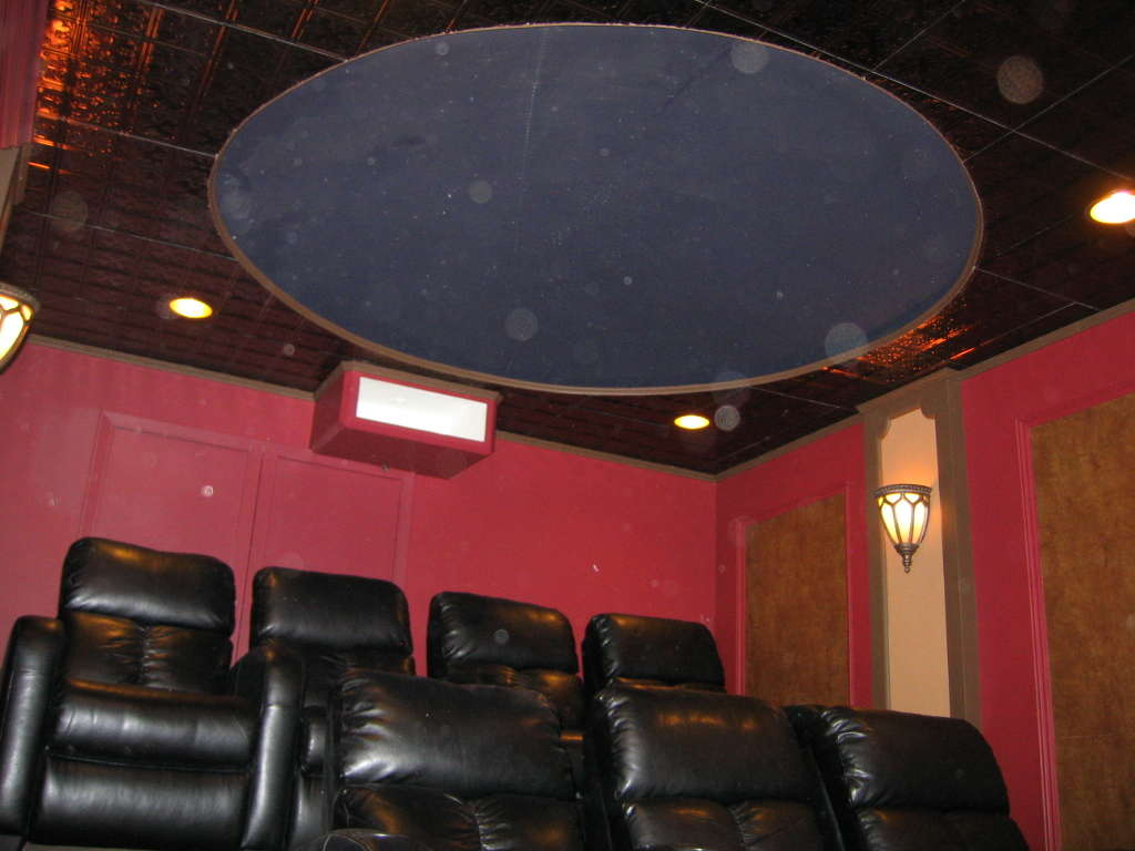 A Beginning Guide to Designing a Theatre Room AND Star Ceiling 7 Steps