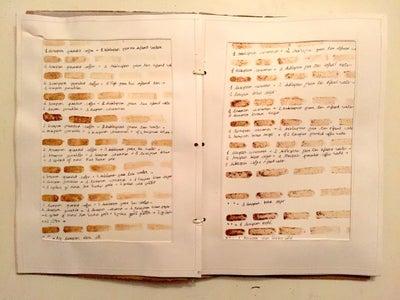Coffee Fashion Design Workbook