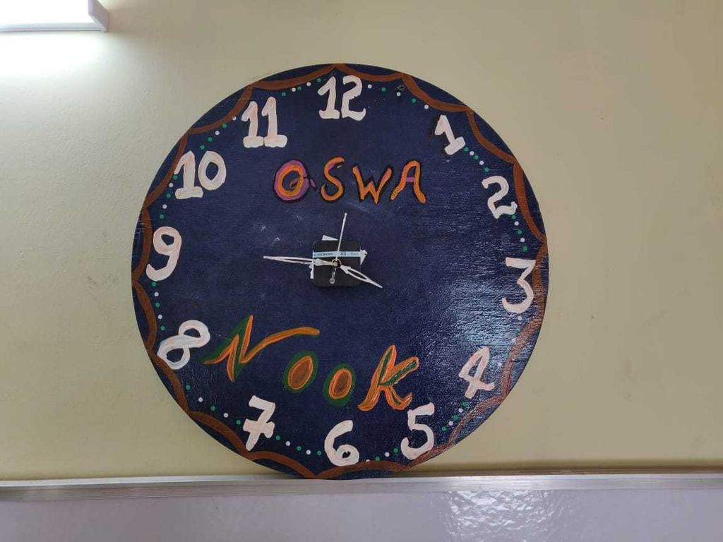 Picture of Wall Clock From Wood
