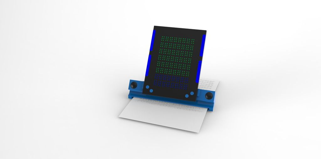 Picture of Concepts for Braille Tablet With Docking Station and Printer