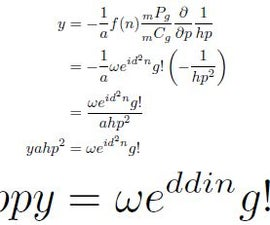 Happy Wedding Equation