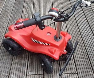 Motorized Bobby-Car (1600W)