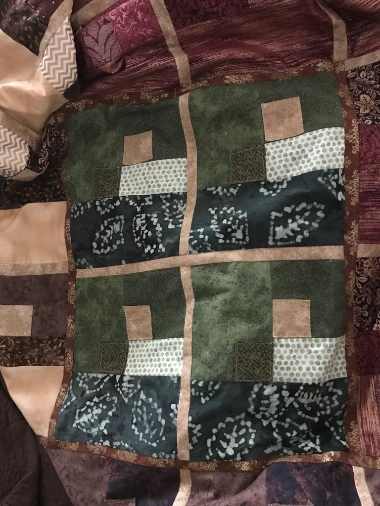 Picture of Step 5: Assemble Blocks, Sections and Overall Quilt