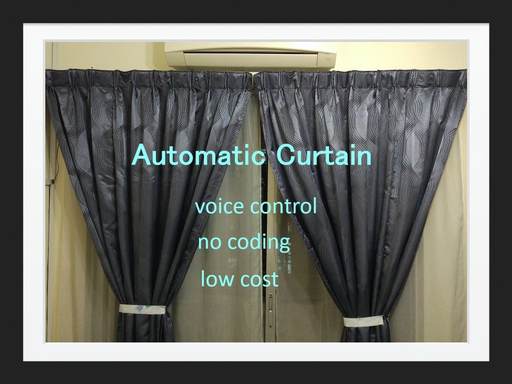 Picture of Automatic Curtain With Google Home