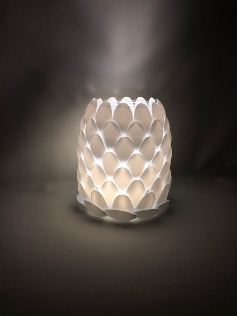 Picture of Recycled Spoon Lamp