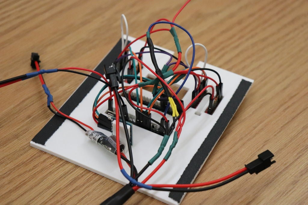 Picture of Electronic Circuitry