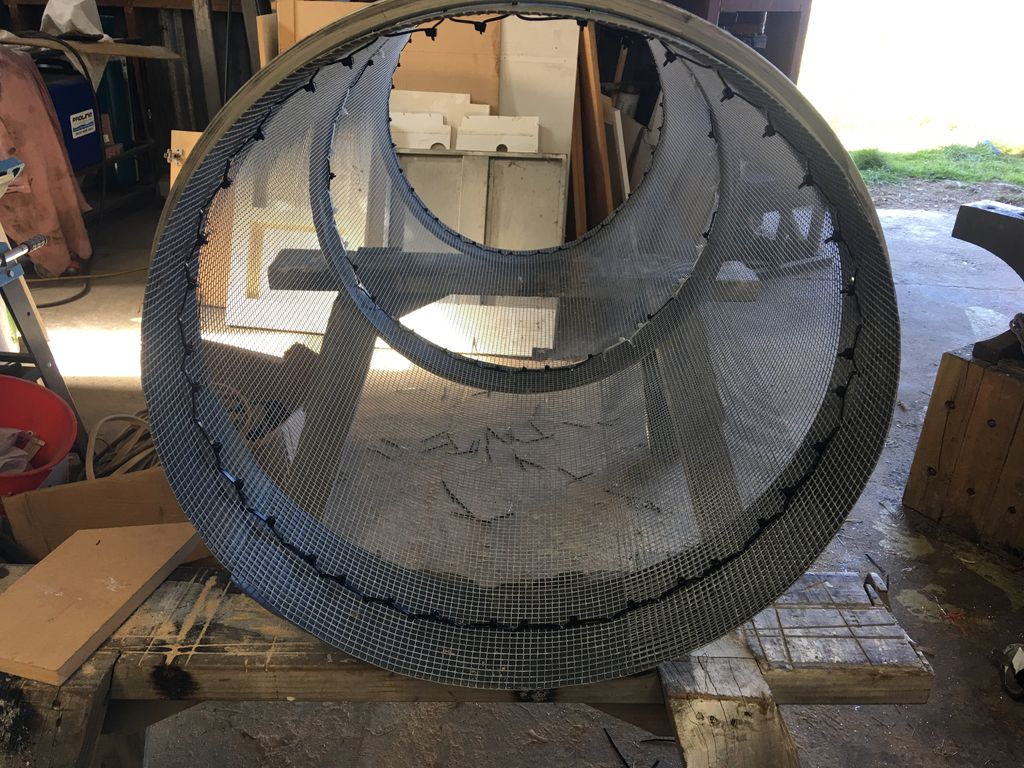 Picture of Building the Mesh Tube