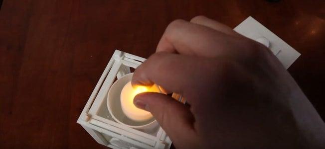 Adding a Tea Light