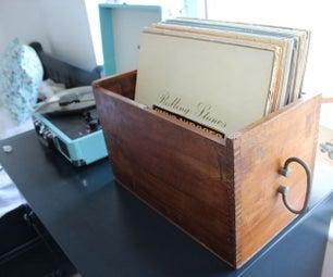 恢复古董盒记录盒