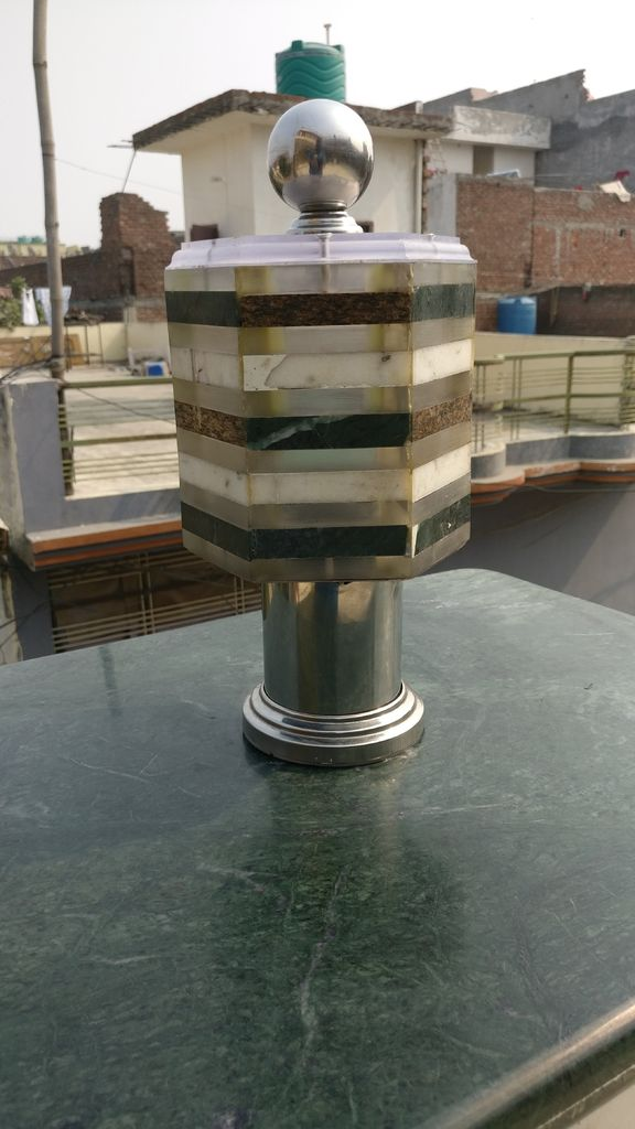 Picture of Turning Scrap Marble and Acrylic Into RGB Night Lamp