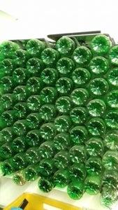 PET Bottle Storage Wall