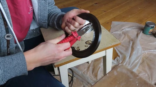 Making the Shield Boss.
