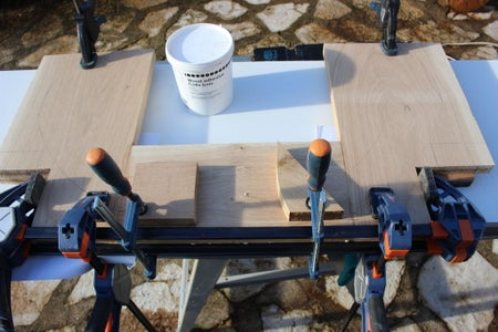 Back and Arm Rest Block : Arm Part