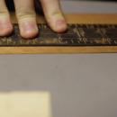 Cut Strips of Veneer