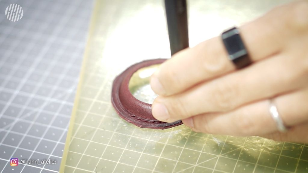 Picture of Make a Stitching Holes