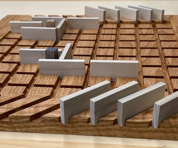 Make a Quoridor Game
