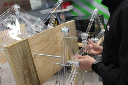 How to Build a Strandbeest Leg