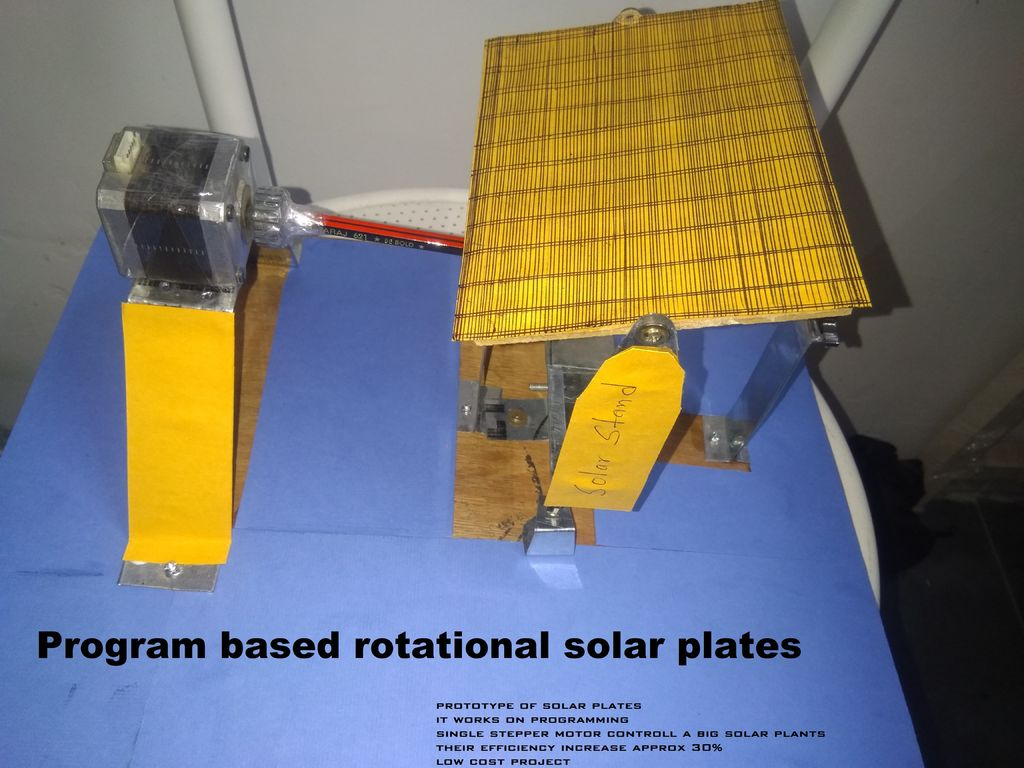 Picture of Program Based Rotational Solar Plates