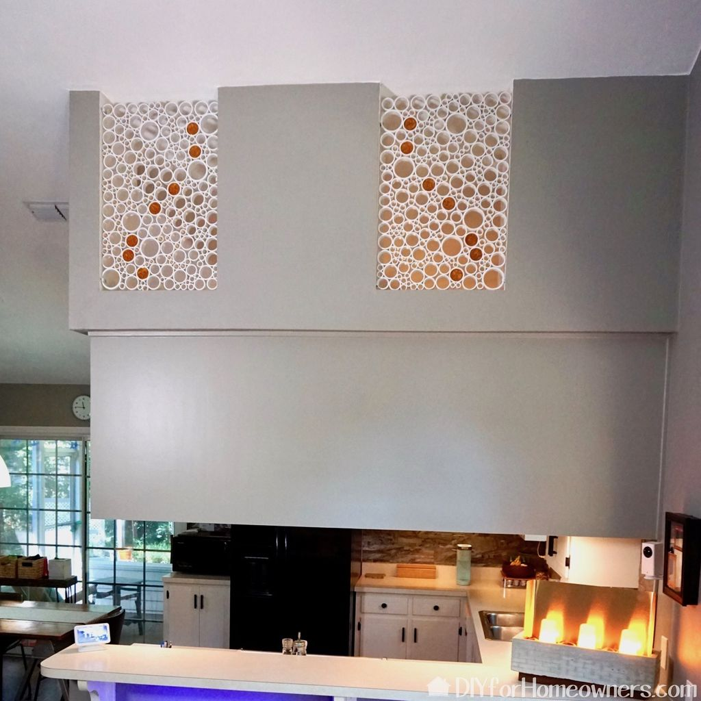 Picture of  How to Make PVC Pipe Artwork for Inside the Home