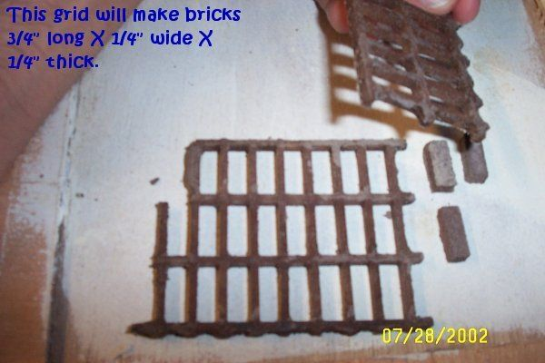 Picture of DIY Miniature DollHouse Bricks