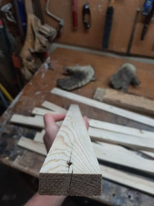 Step 1: Refine the Wood