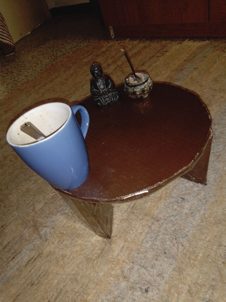 Picture of Tatami Tea / Coffee Table From Cardboard.
