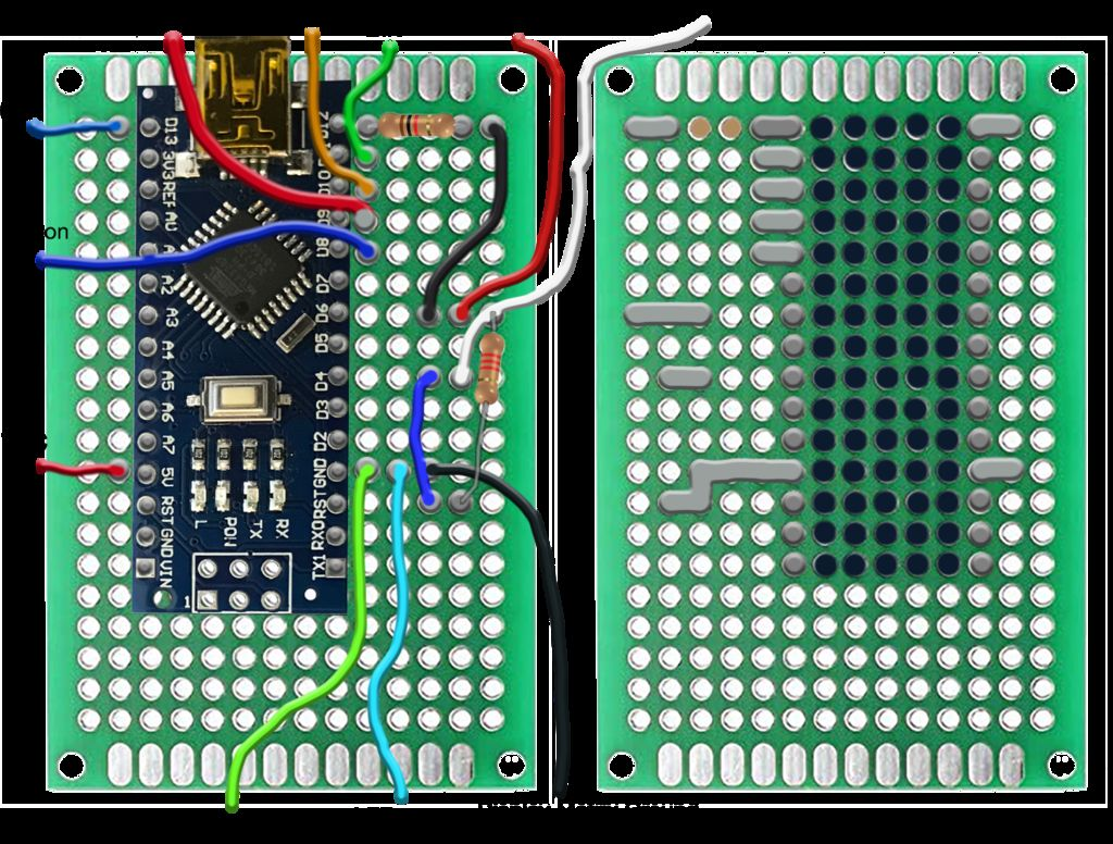 Picture of Assembling Electronics on a Perforated Board