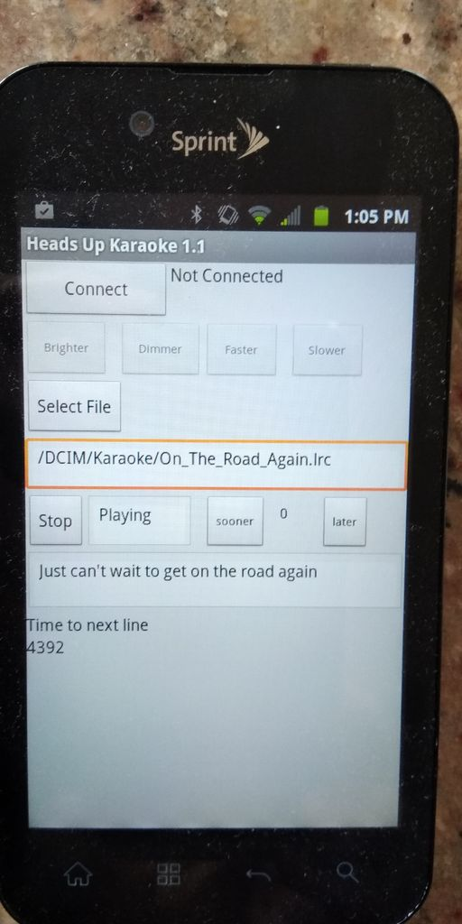 Picture of Heads Up Karaoke