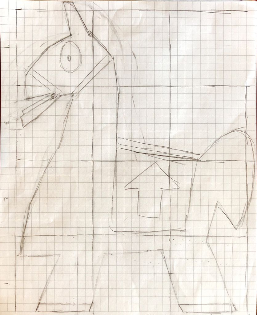 Picture of Sketch Out Your Llama on Graph Paper