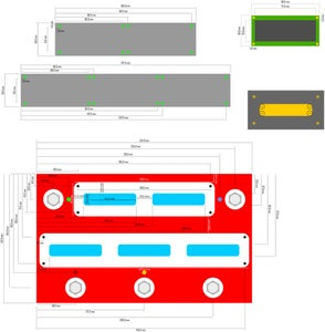 CAD Mock-up and Layout