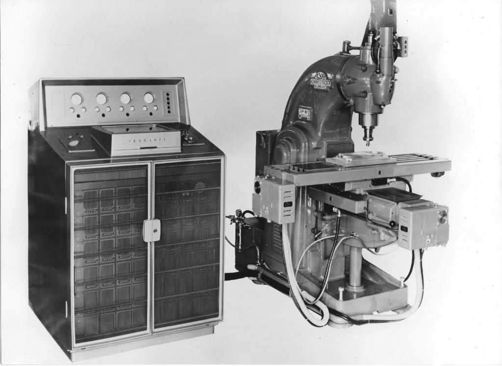 Picture of History of CNC Machining