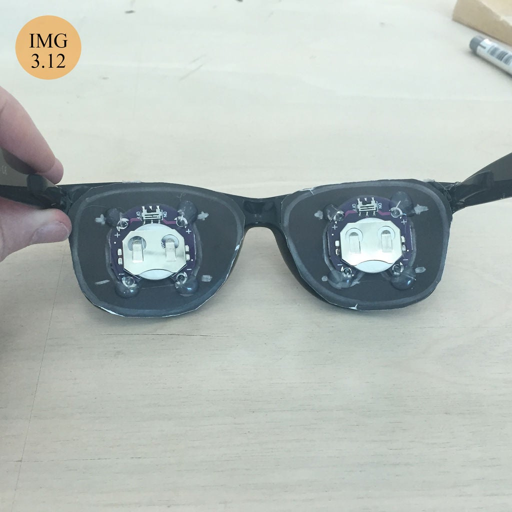 Picture of Assembling the Glasses