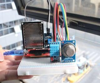 MicroPython Program:Mini Weather Station