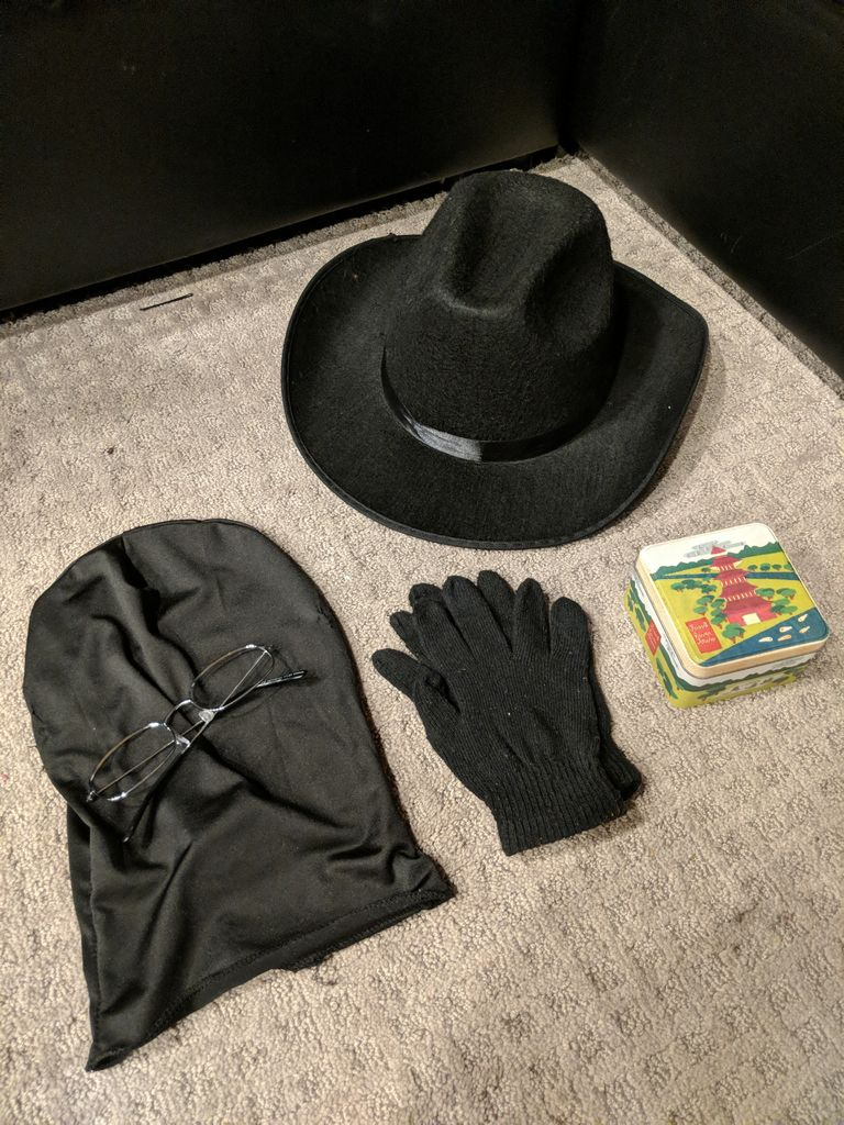 Picture of Google Incognito Mode Costume (Fits in a Hat!)