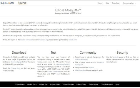 MQTT by Mosquitto