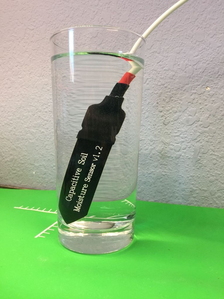 Picture of Waterproofing a Capacitance Soil Moisture Sensor