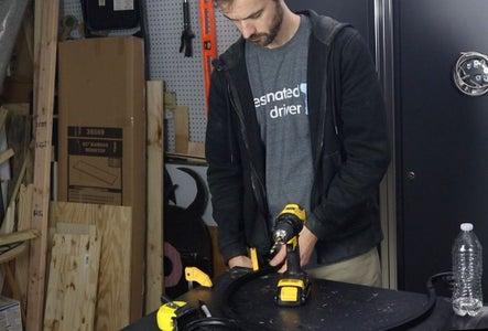 Adjust Top Bars on Firewood Rack