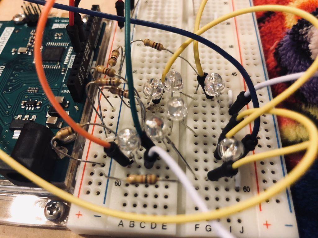 Picture of Let the Arduino and Breadboard Connect Together