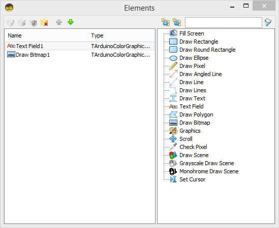 Picture of In Visuino Set Component Properties