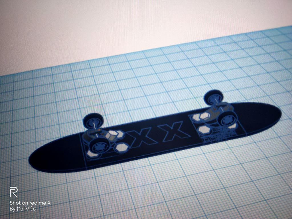 Picture of Shock Absorption Skateboard Based on Support Welding
